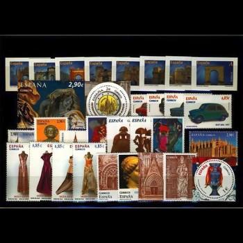 Año completo 2012 SH Hojas bloque y carnet