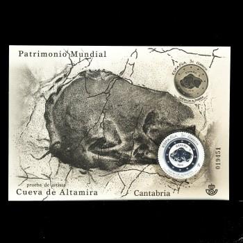 4965P  PATRIMONIO MUNDIAL. CUEVA DE ALTAMIRA