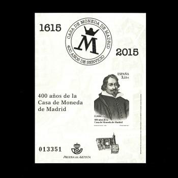 4975P 400 AÑOS CASA DE LA MONEDA DE MADRID