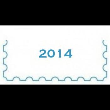 AÑO 2014. MINIPLIEGO. CARTULINA BLANCA.