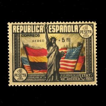 765** CONSTITUCION  EE.UU. BC. CERTIFICADO DE AUTENTICIDAD.