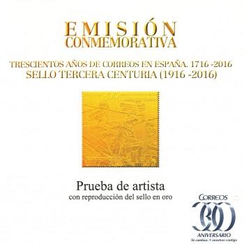 5078P 300 ANIVERSARIO CORREOS EN ESPAÑA (3º CENTENARIO)