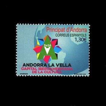 ANDORRA ESPAÑOLA. 444 CAPITAL IBEROAMERICANA DE LA CULTURA