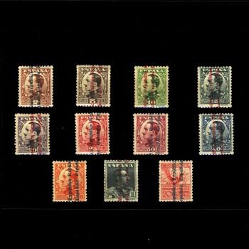 593/03* ALFONSO XIII SOBRECARGADO. BC