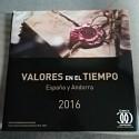 LIBRO DE CORREOS DE ESPAÑA  Y ANDORRA 2016 SIN SELLOS