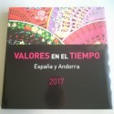 LIBRO DE CORREOS DE ESPAÑA  Y ANDORRA 2017 SIN SELLOS