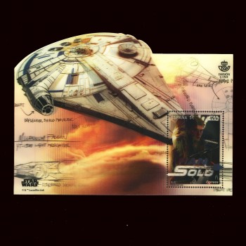 5224 HOJA BLOQUE CINE. STAR WARS