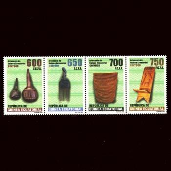 G. ECUATORIAL. 563/66 ARTESANÍA DE GUINEA ECUATORIAL