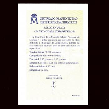 5210P PATRIMONIO MUNDIAL. SANTIAGO DE COMPOSTELA