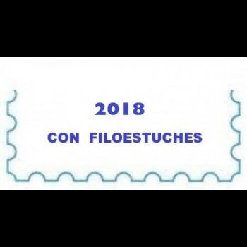 GUINEA ECUATORIAL (2018) SELLOS. CARTULINA BLANCA.