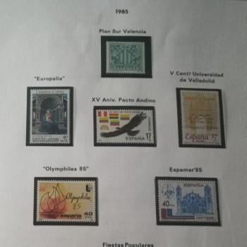 Colección  de sellos de España (1960 - 2015)