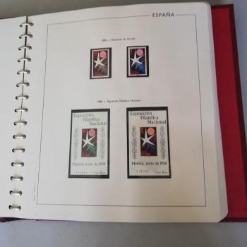 Colección de sellos de...