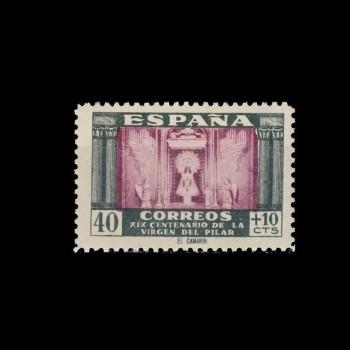 0998** VIRGEN DEL PILAR. BC