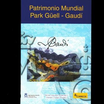 Carterita Parque Güell - Gaudí
