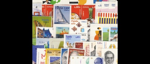 Spanish stamps 2011