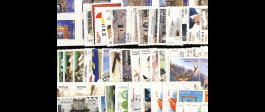 Spanish stamps 2012