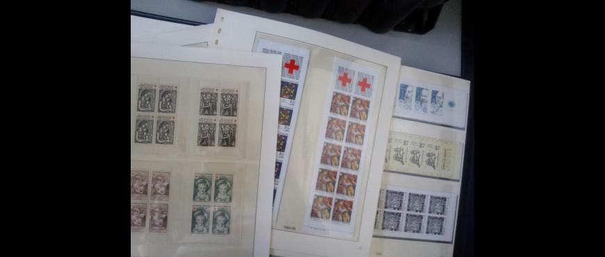 Colecciones de sellos  por paises