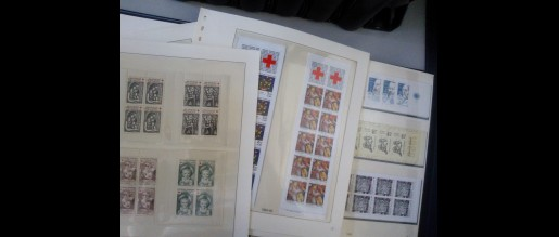 Collections of stamps by countries