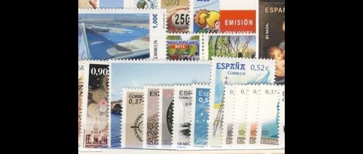 Sellos de España  de  2013