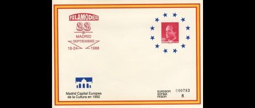 Sobres entero postales 1985 - 89