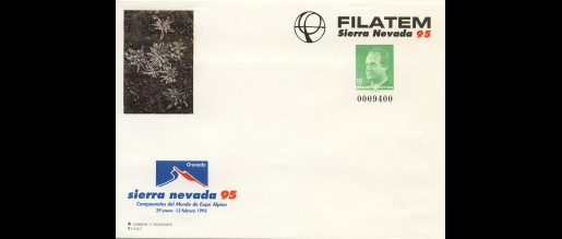 Postal cover cards 1990 - 94