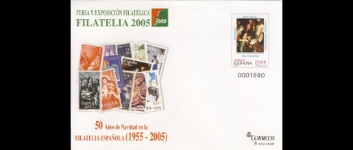 Postal cover cards 2005 - 09