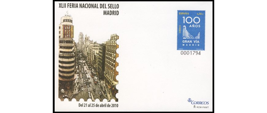 Sobres entero postales 2010 - 16