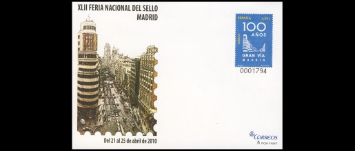 Postal cover cards 2010 - 16