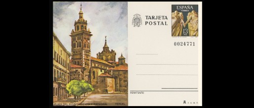 Postal cards 1980 - 89