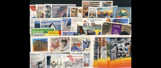 Spanish stamps  2014
