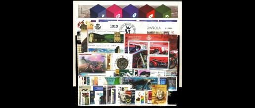 Spanish stamps  2015