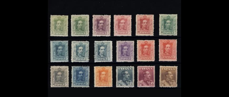 Colección de Sellos de España Alfonso XIII: Sellos de 1901-1931