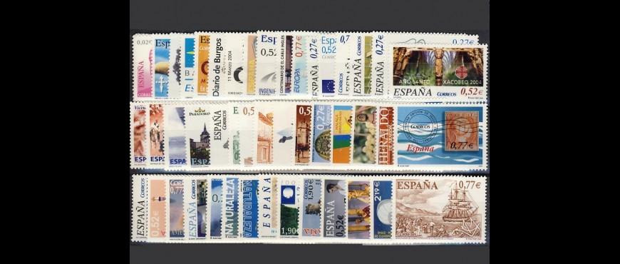 Años completos de España