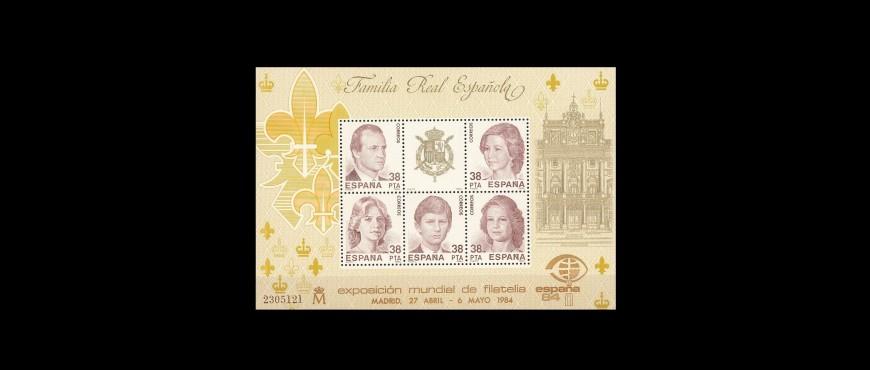Colección de sellos de correos de la monarquía española