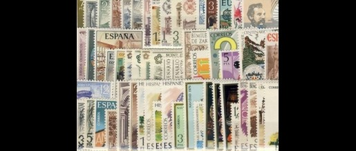 Spanish stamps 1976