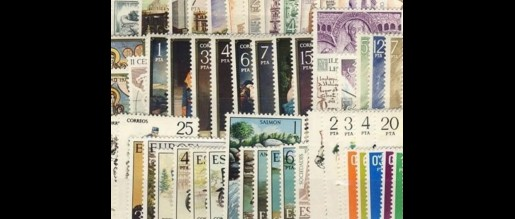 Spanish stamps  1977