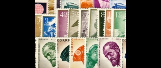 Stamps 1958