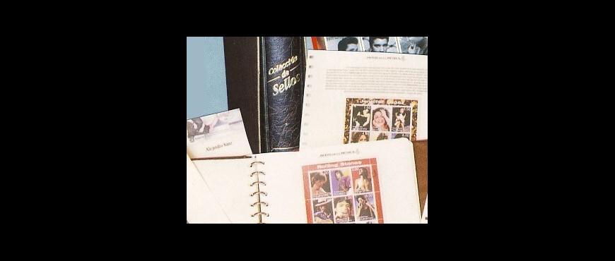 Colección de sellos temática de España y Universales