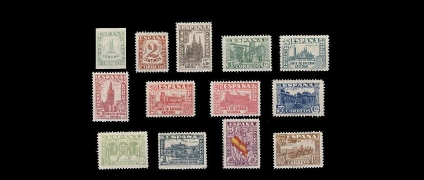 Colección de Sellos del Estado Español: Sellos de 1931-1938
