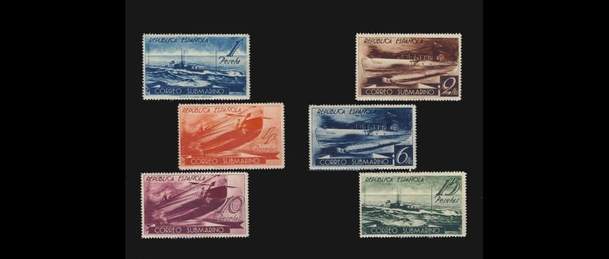 Colección de Sellos de la República : Sellos de 1936-1949