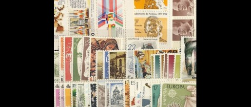 Spanish stamps 1986