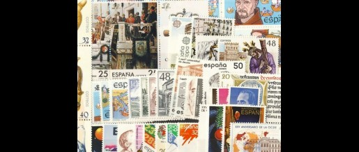 Spanish stamps 1987