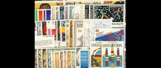 Spanish stamps 1989