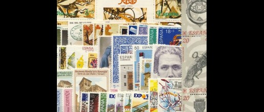 Spanish stamps 1990