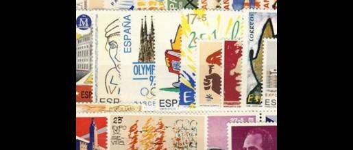 Sellos de España  de 1992