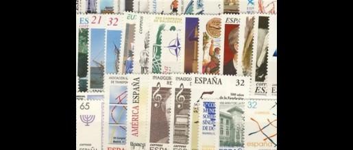 Sellos de España  de 1997