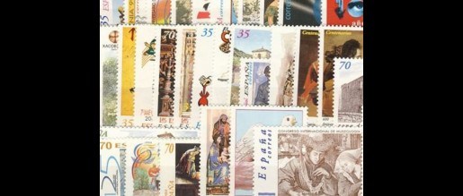 Spanish stamps 1999