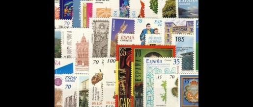 Sellos de España  de 2000