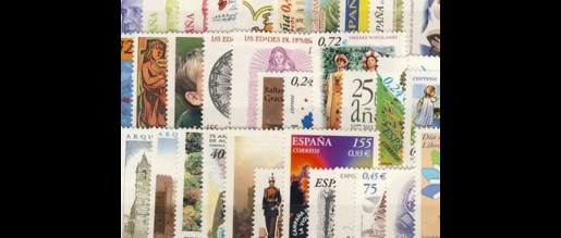 Spanish stamps 2001