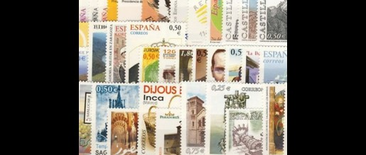 Spanish stamps 2002
